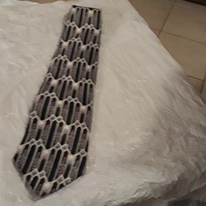 Stafford mens 100% silk tie